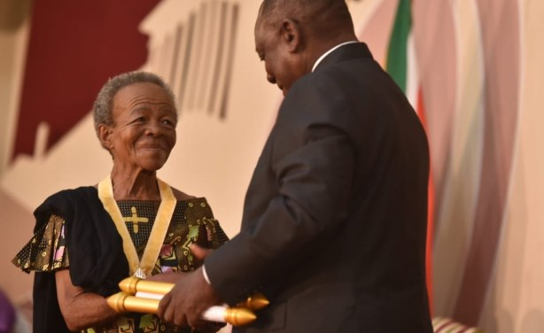 President Honours Citizens, Dignitaries with National Orders for Services to South Africa