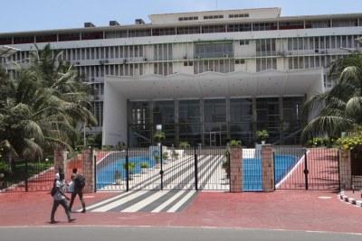 L'Assemblée nationale du Sénégal.