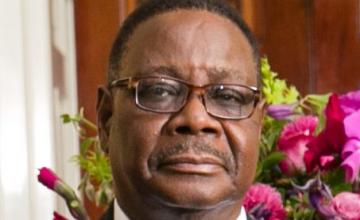 Le président Peter Mutharika du Malawi réélu
