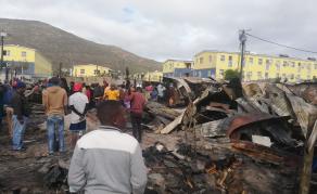 200 Left Homeless After Fire at South African Informal Settlement