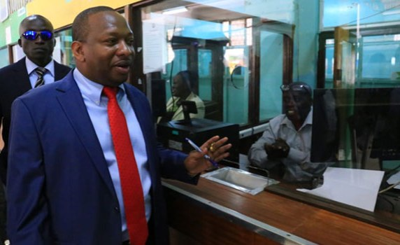 Nairobi's Governor Sonko Takes Action Against 'Lazy' Workers