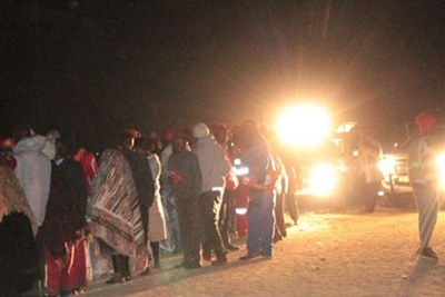 The MDC resorted to car headlights when an unexpected power cut threatened to throw the party's election process into disarray at Ascot Stadium in Gweru, late on Sunday evening.