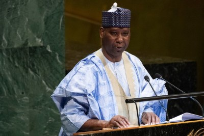 Ambassador Tijjani Mohammad Bande, newly-elected President of the 74th session of the United Nations General Assembly.