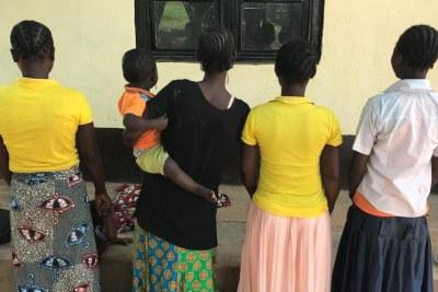 (Photo d'archives) - Jeunes filles enceinte en Afrique