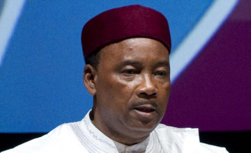 Le Nigérien Mahamadou Issoufou prend la tête de la CEDEAO