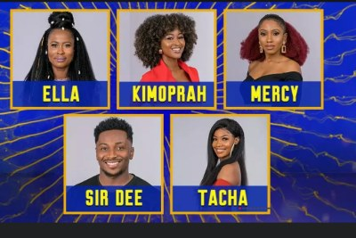 BBNaija: Five housemates face eviction.