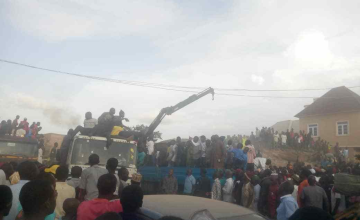 Many Trapped As Building Collapses in Nigeria's Jos