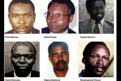 Genocide fugitives (file photo).