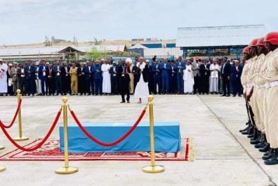 Mogadishu mayor Abdirahman Omar Osman laid to rest