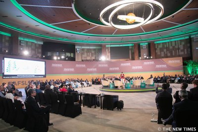 The Africa  Food  Security  Leadership  Dialogue conference in Kigali, Rwanda.