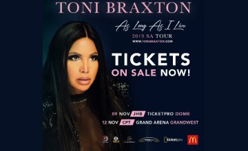 Toni Braxton Coming to Mzansi - Who's Ready to Breathe Again!?
