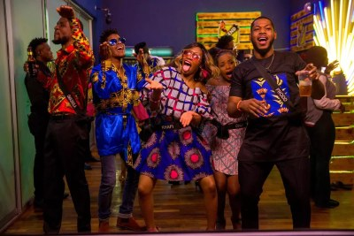 Big Brother Naija contestants having fun.