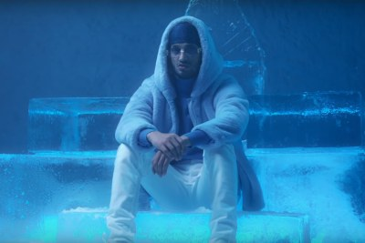 Abderraouf Derradji, known as Soolking in his music video Rockstar.