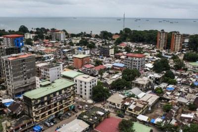 Vue de Conakry, en Guinée (image d'illustration).