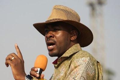 MDC leader Nelson Chamisa.