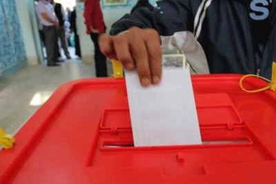 Voting in Tunisia