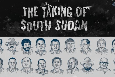 A publicity image from The Taking of South Sudan report.