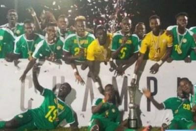 Le Sénégal champion de-la WAFU Cup 2019