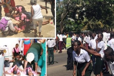 Pupils Hurt In Solidarity Protest With Unpaid School Teachers