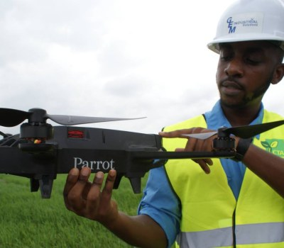 Ghanaian Farmers Experiment With Drones