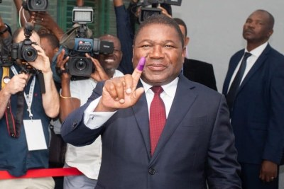 Mozambique Opposition Rejects Poll Results as Nyusi Takes Lead