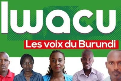 From left to right: Térence Mpozenzi, Agnès Ndirubusa, Christine Kamikazi, Égide Harerimana, and Adolphe Masabarakiza. © 2019 Iwacu