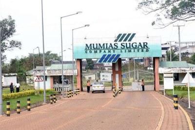 The Mumias Sugar Company (file photo).