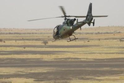 Hélicoptère «Gazelle» de l'opération Barkhane (image d'illustration).