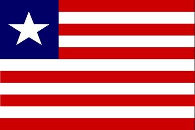 Liberian flag (file photo).