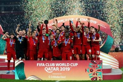 L'équipe du Liverpool Fc champion du monde des Clubs