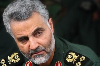 Qassem Soleimani, commandant de la Force Al-Qods du corps des Gardiens de la révolution islamique.