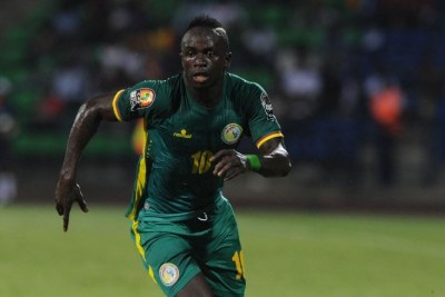 Sadio Mané, International Sénégalais