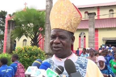 L'archevêque de Douala
