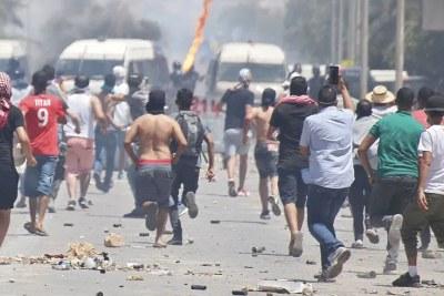 Tensions sociales à Tataouine en Tunisie