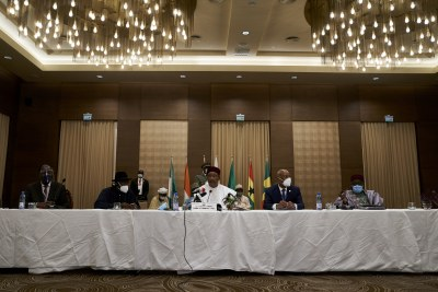 ECOWAS Head of Staes in Mali (file photo).