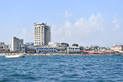 A view of Lido beach, Mogadishu, Somalia on November 15 2019.
