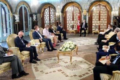 Séance de travail tripartite Tunisie-Italie-Europe.