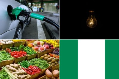 Challenges facing Nigerians are increases in petrol price, electricity and food price hikes