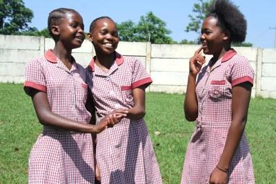 Écolières sud-africaines.