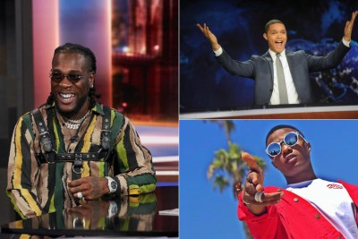 Joy As Trevor Noah, Burna Boy, Wizkid Get Some Grammy Action