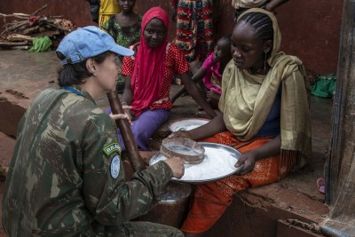 Protecting civilians is a key mandate for many UN peacekeeping operations, including in the Central African Republic.