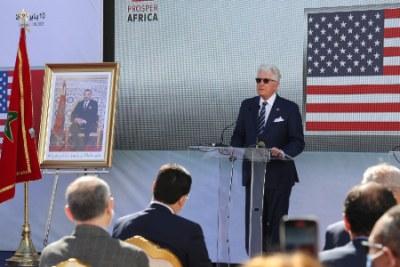 Ambassadeur américain à Rabat, David Fischer.