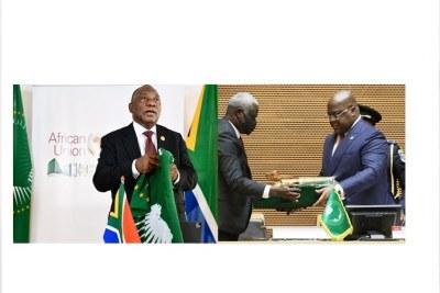 Le président Tshisekedi remplace, à la présidence de l'UA, le président sud-africain Cyril Matamela Ramaphosa qui a assuré cette mission au cours de l'année 2020.