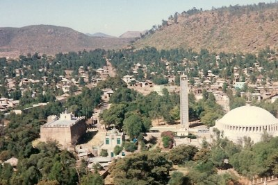 The city of Axum.