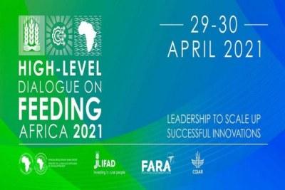 Un dialogue virtuel de haut niveau baptisé « Nourrir l'Afrique : leadership pour intensifier les innovations réussies » prévu fin avril 2021