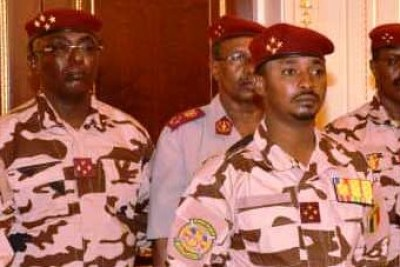 Mahamat Idriss Deby, Président du Conseil militaire du Tchad et président par intérim