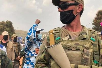 Des troupes russes assurent la sécurité à Bangui, la capitale centrafricaine