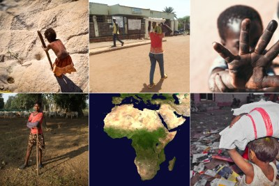 Child labour on the increase in Africa (file photo).