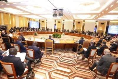 La conférence de Chefs d'Etat et de Gouvernement de la CPLP