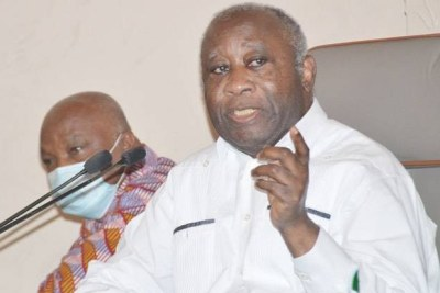 L'ex-Chef de l'Etat Laurent Gbagbo.